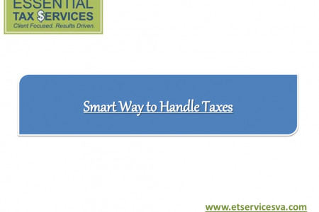 Smart way to handle taxes Infographic