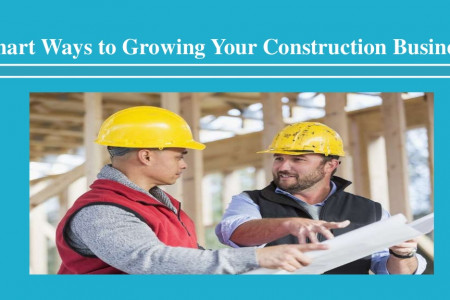 Smart Ways to Growing Your Construction Business Infographic