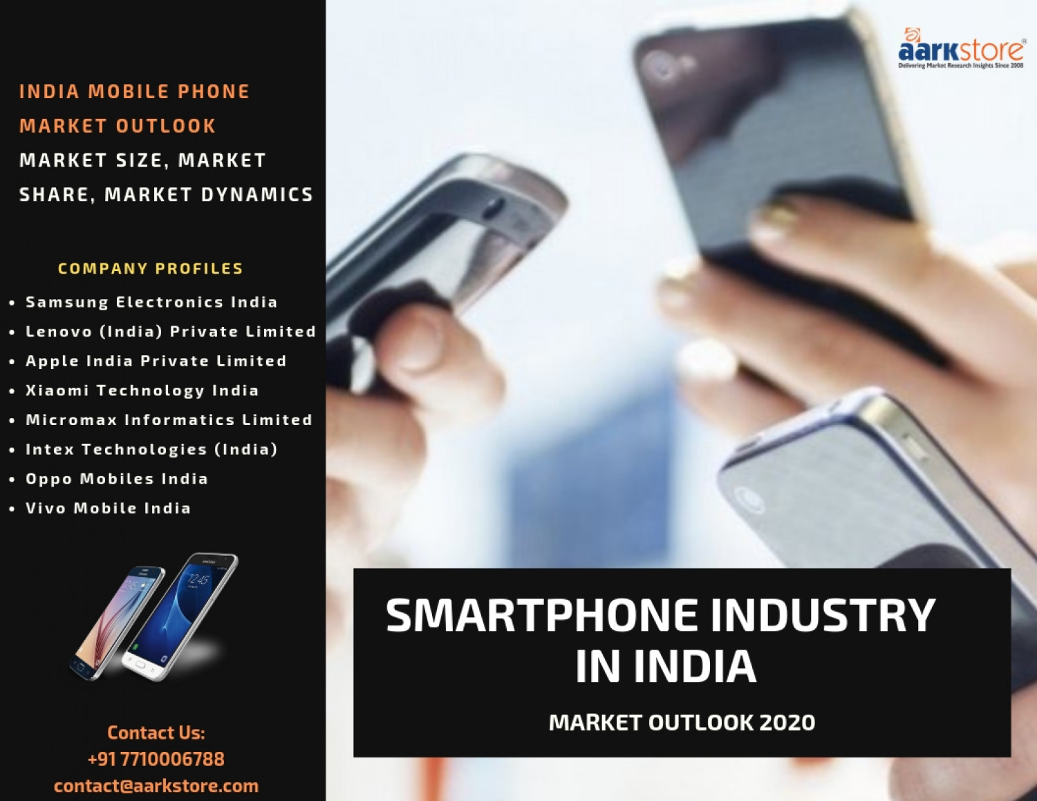 Smartphone Market Research Reports and Forecast 2020 Infographic