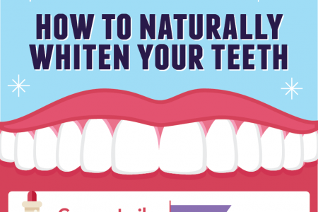 Smile Pretty: How to Whiten Teeth Without the Chemicals Infographic