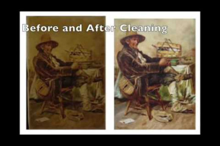 Smoke Damaged Collectibles, Paintings and Furniture – Santa Barbara Ventura, CA – Art Restoration Te Infographic