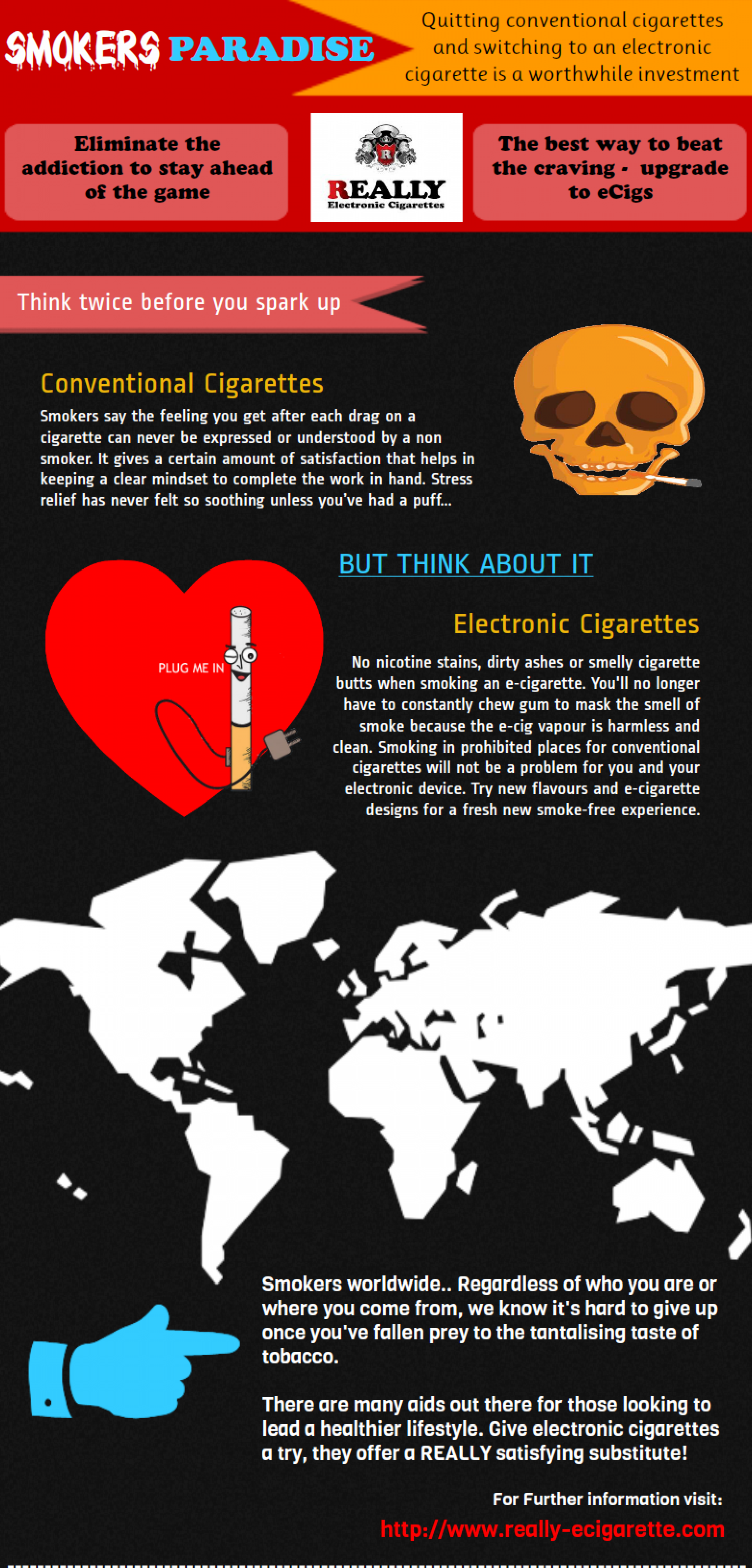 Smokers Paradise Infographic