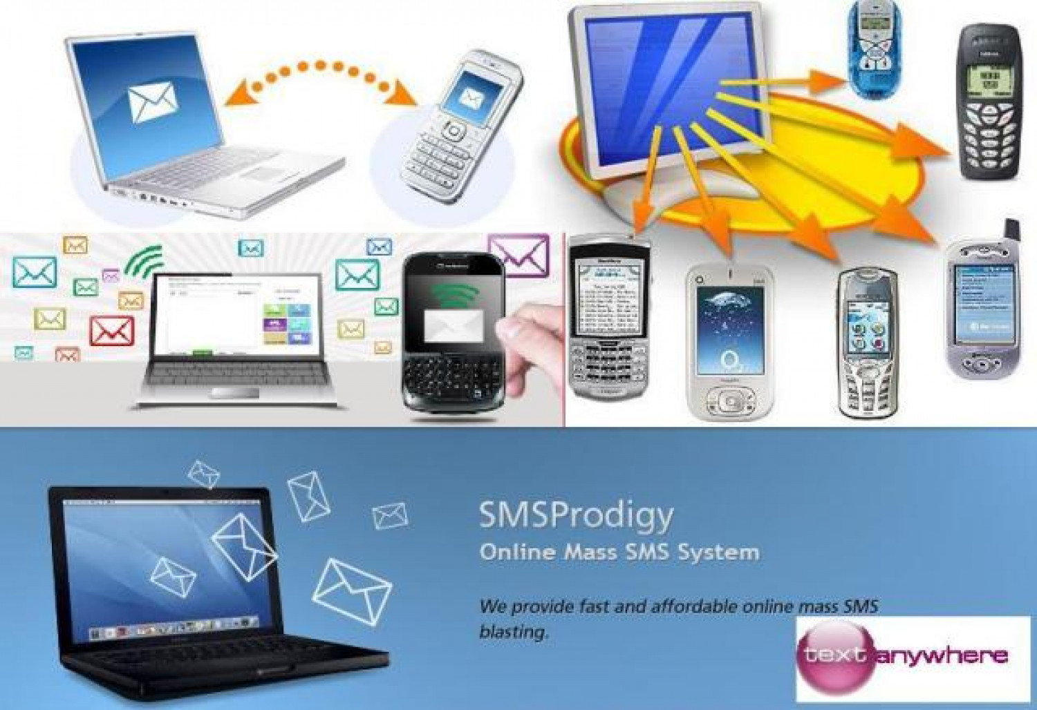SMS Messages Online Infographic