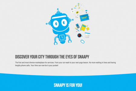 Snaapy -a promotional app with ERP features for small and midsize businesses Infographic