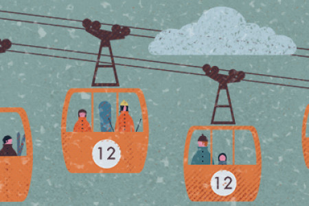 Snowsports in Scotland Infographic