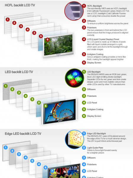 So You Thought you Knew About LCD Screens Infographic