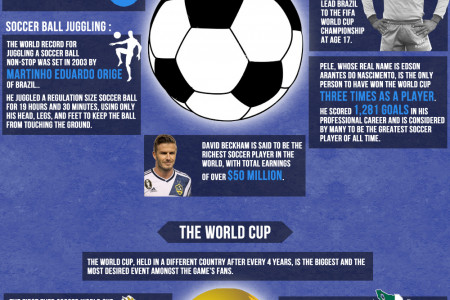 Soccer A.K.A Football amazing facts about an amazing game Infographic