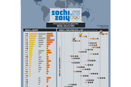 Sochi Olympics Medals Infographic