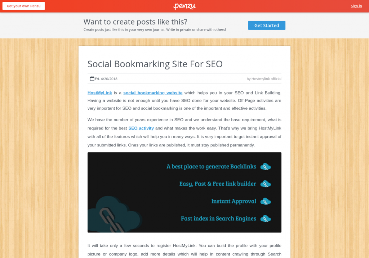 Social Bookmarking Site For SEO Infographic
