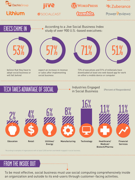 Social Business Infographic