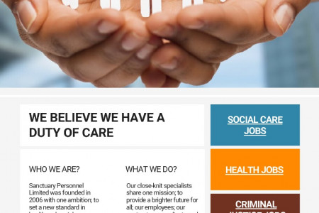 Social Care Opportunities Infographic
