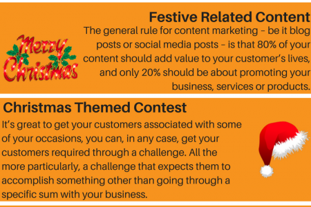 Social champ provides you Christmas day tips for boosting your social media platform Infographic