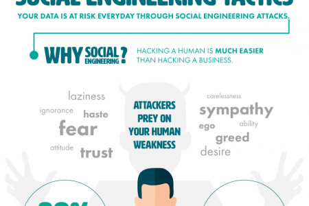 Social Engineering Tactics Infographic