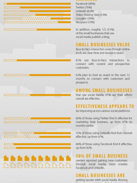 Social Media: A Must-Have for Small Business Owners Infographic