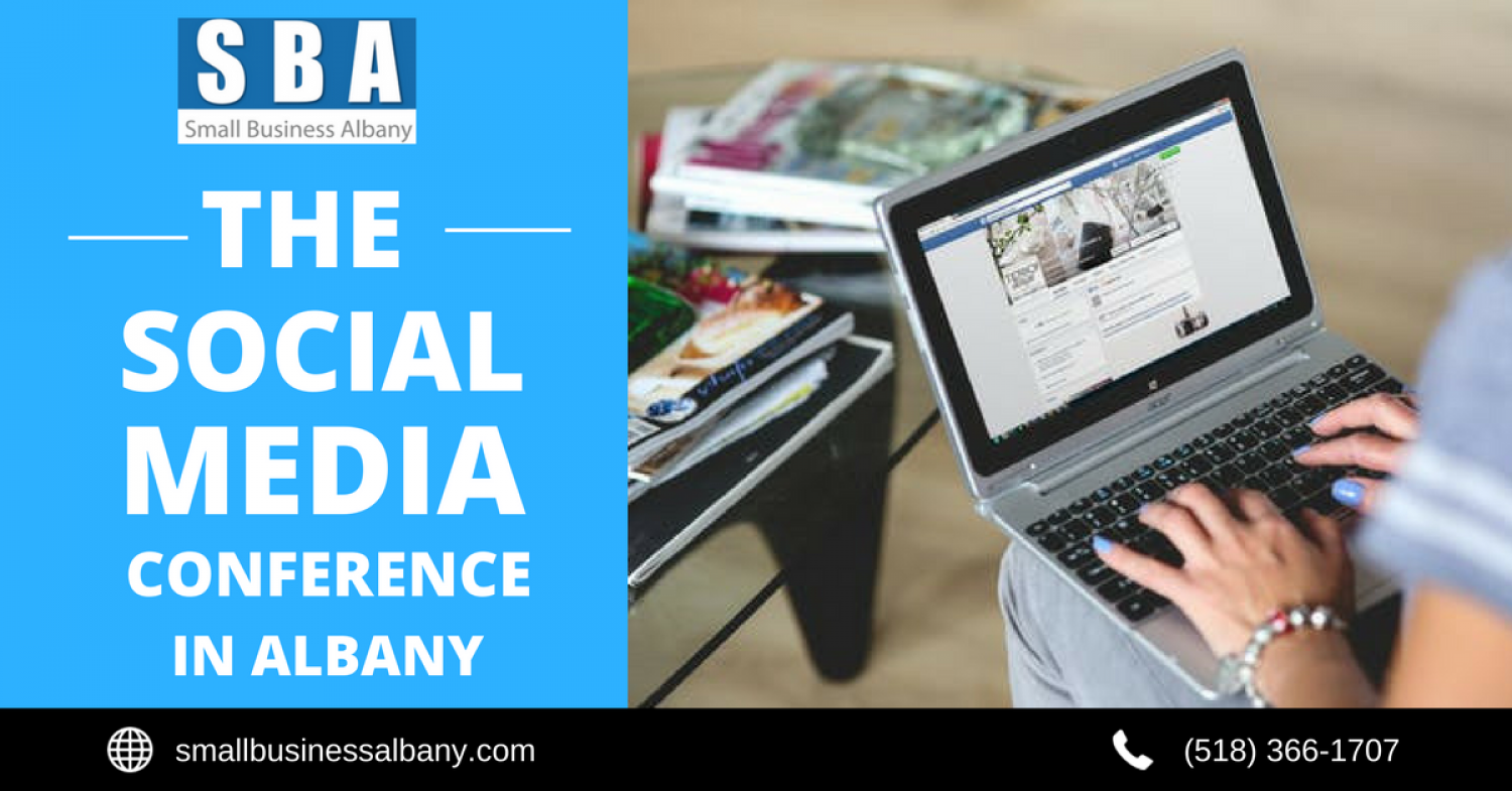 Social Media Conference in Albany Infographic