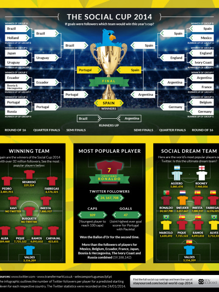 The Social Cup 2014 Infographic