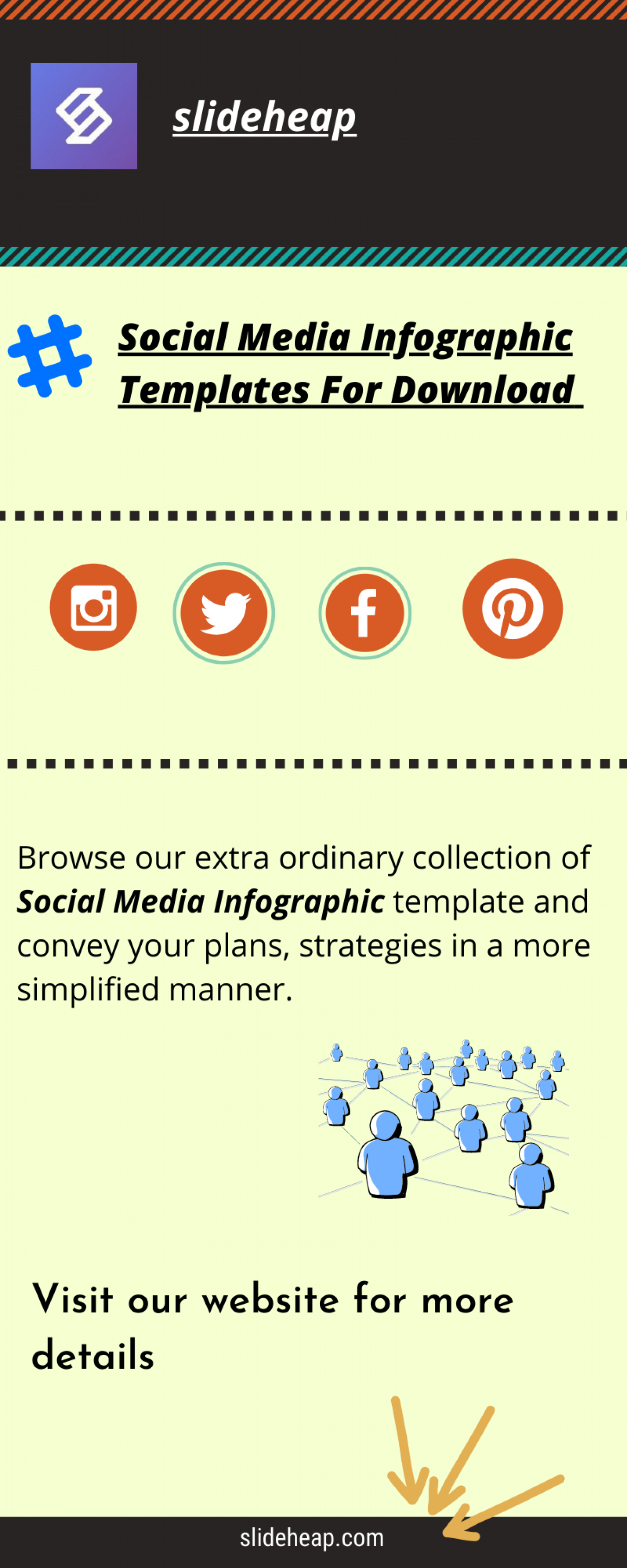 Social Media Infographic Templates For Download | Slideheap Infographic