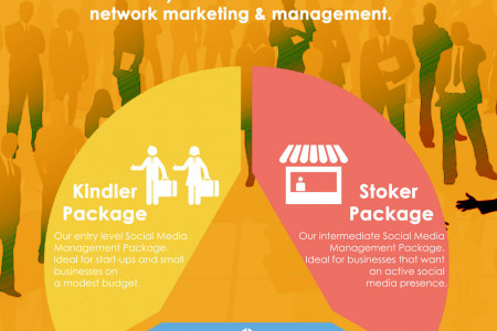 Social Media Marketing Packages by Fire Brand Social Media Infographic