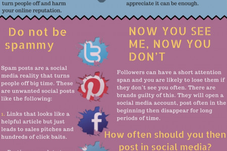 Social Media Mistakes Small Businesses Must Avoid Infographic