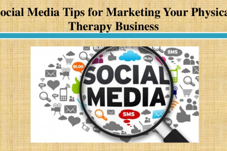 Social Media Tips for Marketing Your Physical Therapy Business Infographic