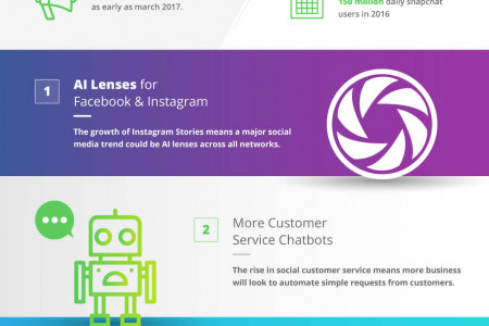 Social Media Trends in 2017 (Inforgraphic) Infographic
