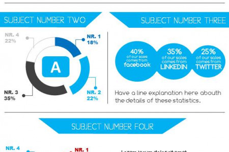Social Media Usage Infographic Infographic