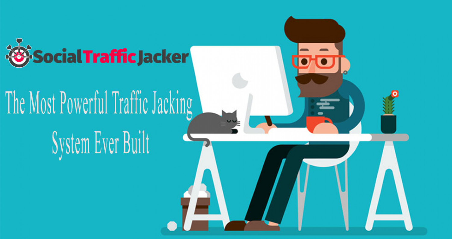 Social Traffic Jacker review and Social Traffic Jacker $11800 Bonus & Discount Infographic