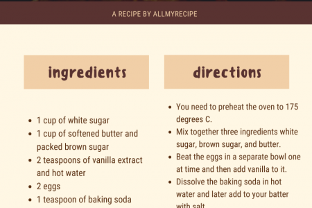 Soft Chocolate Chip Cookies Recipe Infographic