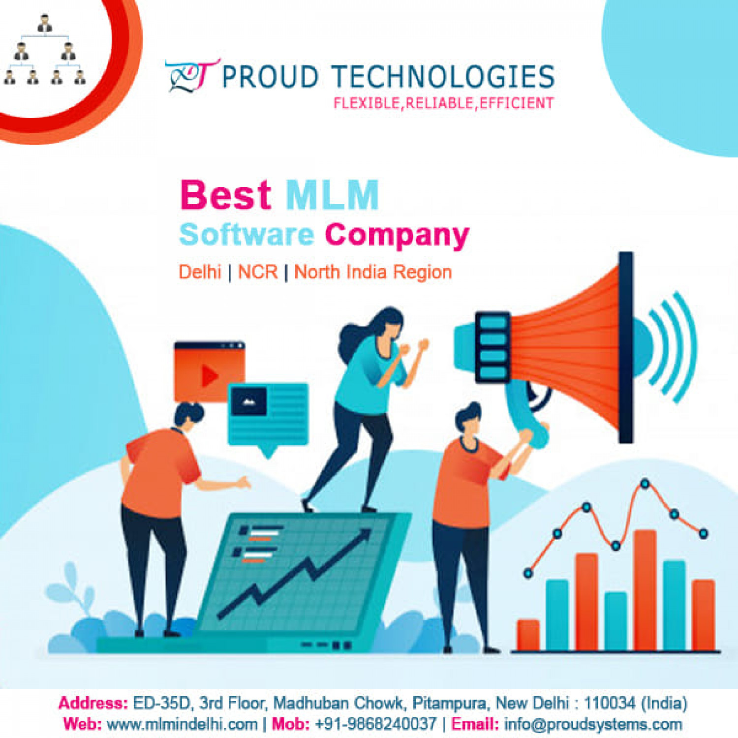 Software for MLM Infographic
