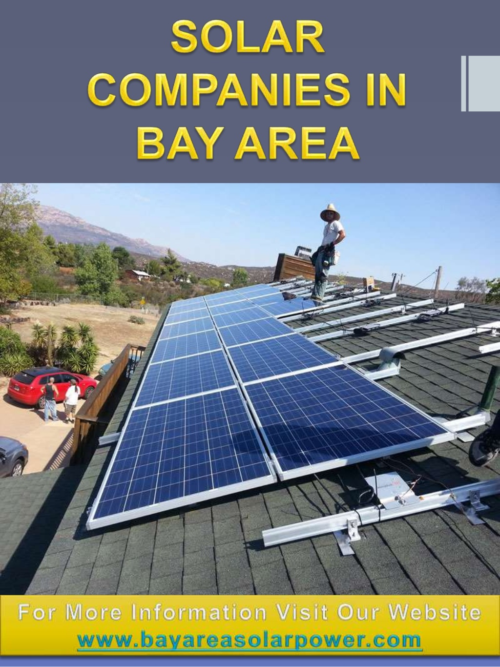 Solar Companies In Bay Area | Visual ly