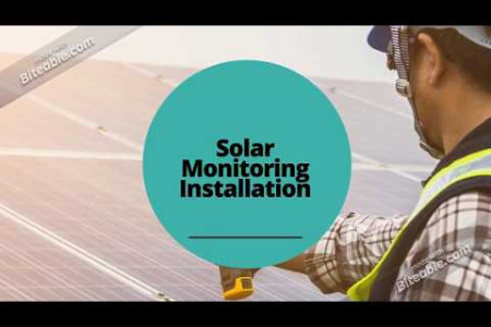 Solar Monitoring Application NJ Infographic