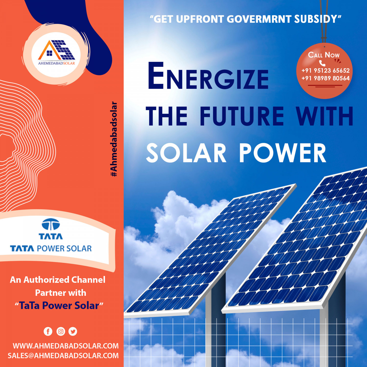 Solar Panel, Solar Power Panel Manufacturer in Ahmedabad Infographic