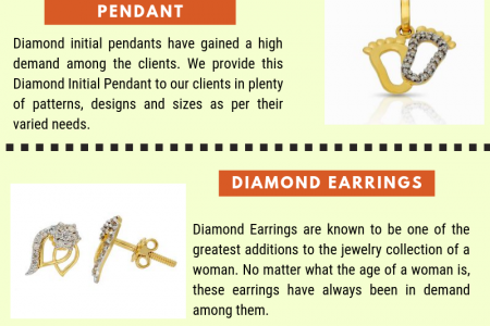 Some Diamond Jewellery Products By Savya Jewels Infographic