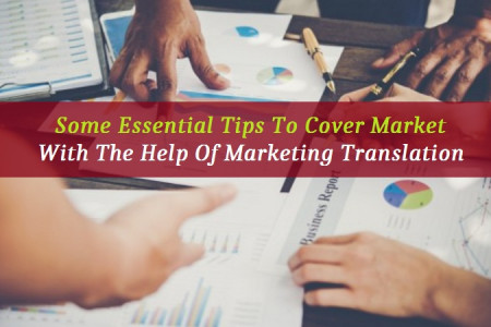 Some Essential Tips To Cover Market With The Help Of Marketing Translation Infographic