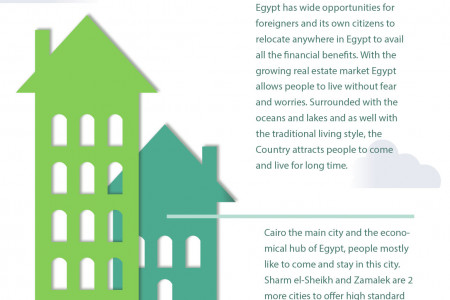 Some Facts about Egypt Real Estate Infographic