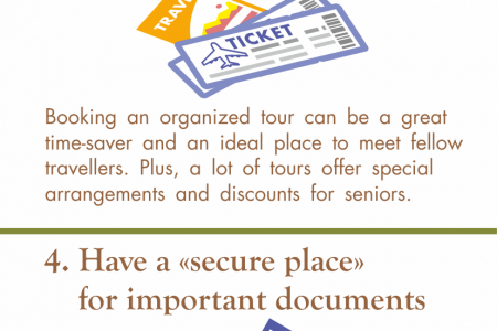 Some Tips for Senior Travellers Infographic