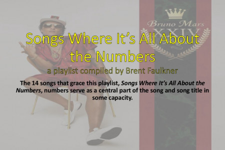 Songs Where It's All About the Numbers Infographic