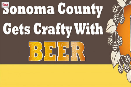 Sonoma County Craft Beer Industry Infographic