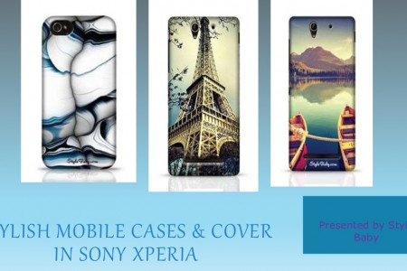 Sony Mobile Cases & Covers Infographic