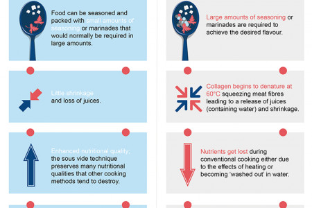 SOUS VIDE – BRINGING MICHELIN STAR DINING TO YOUR HOME Infographic