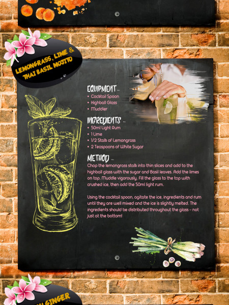 South East Asian Twists on Classic Cocktails Infographic