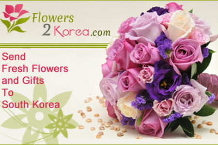 South Korea Florist Send Flowers to South Korea: Low Cost Delivery Infographic