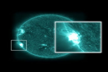 Magnetic Space Weather in Action Infographic