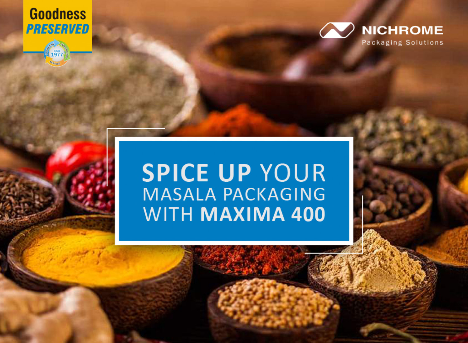 Spice Up Your Masala Packaging Maxima 400 Infographic