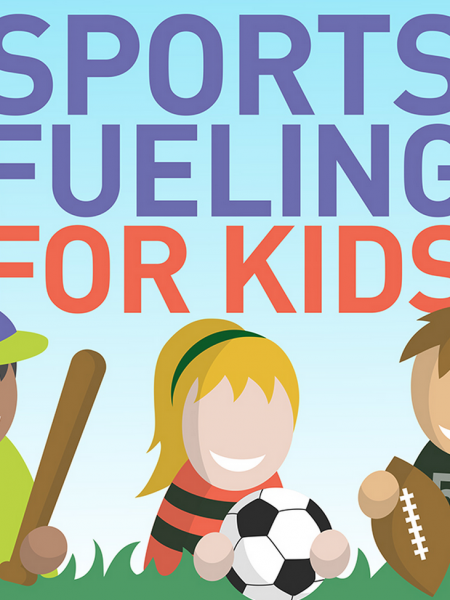 Sports Fueling For Kids Infographic