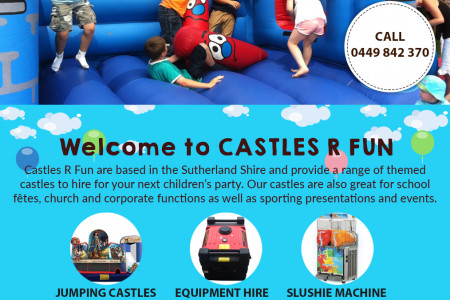 Spruce Up The Next Kids' Party With Our Fun Equipment Infographic