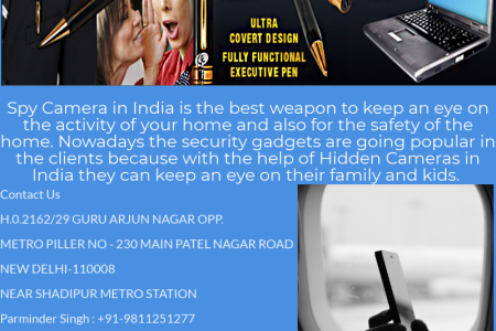 Spy Hidden Camera in Delhi Infographic