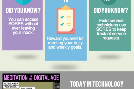 SQRES: Field Service Management Software for your Business Infographic