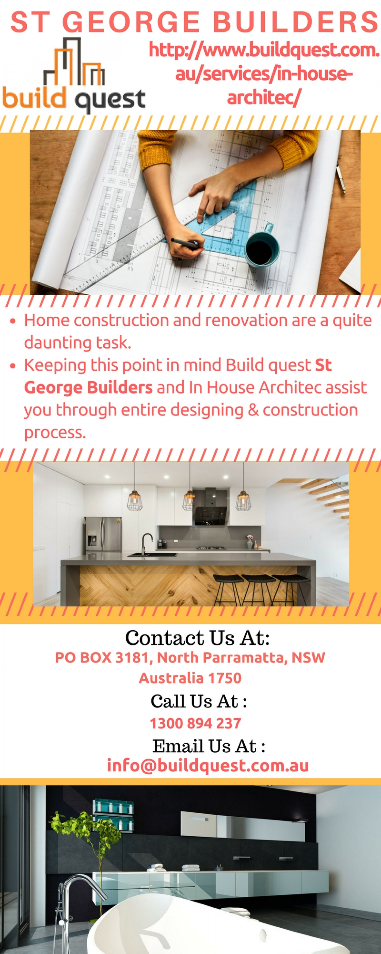 St George Builders Infographic