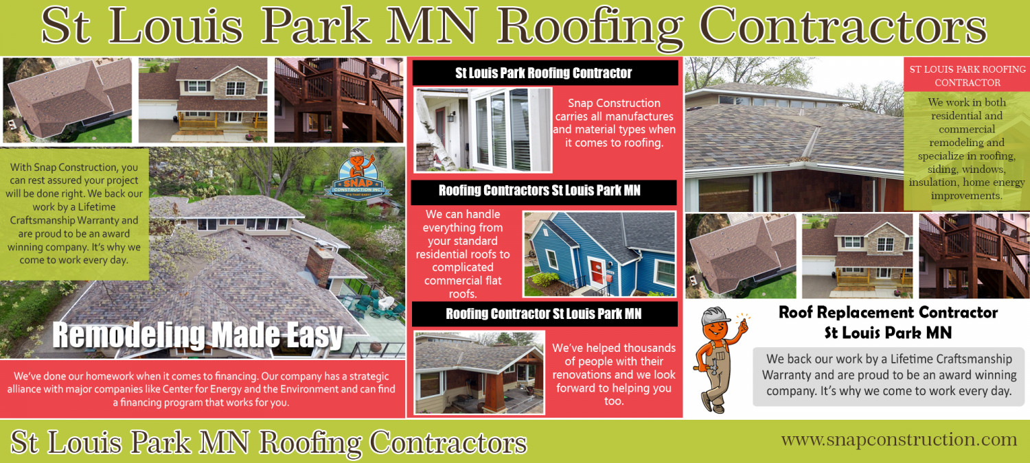 St Louis Park MN Roofing Contractors Infographic
